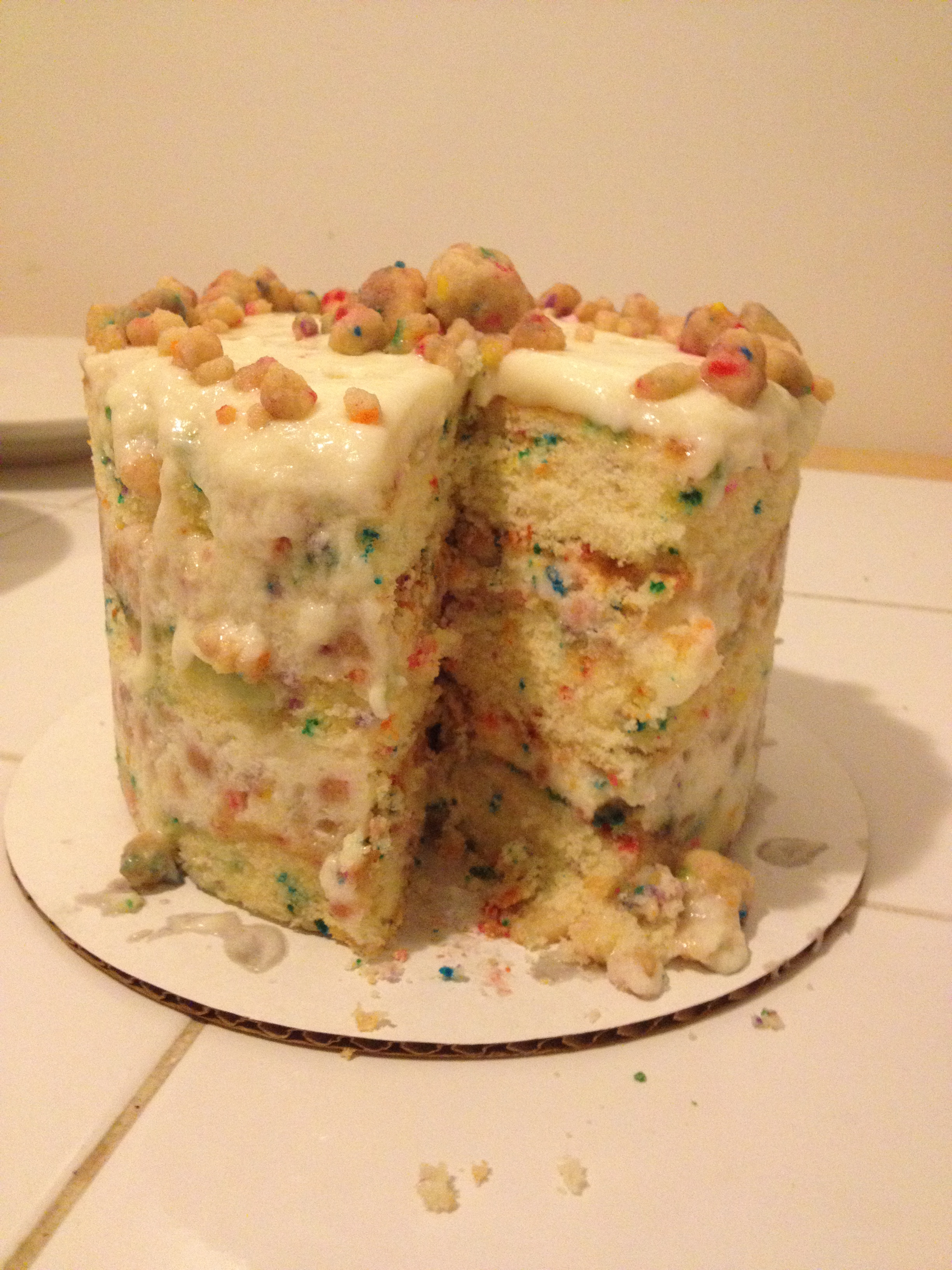 A Birthday Cake And Not Just Any THE From Momofuku Milk Bar Ive Wanted This For Two Years Over The